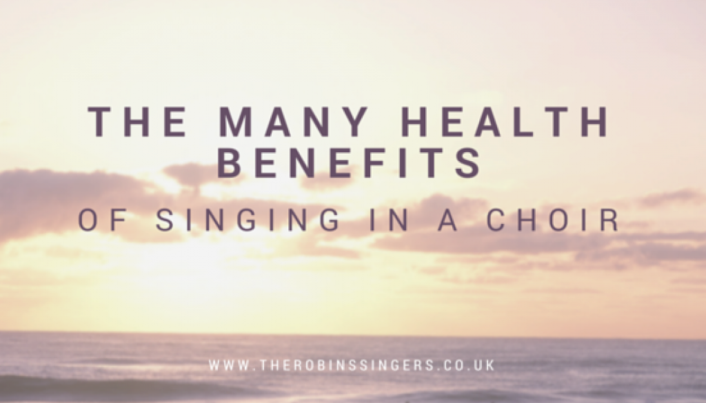 the health benefits of singing