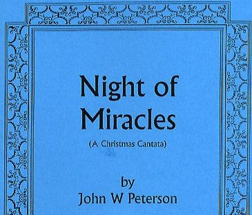 Night of Miracles – A Little Background…